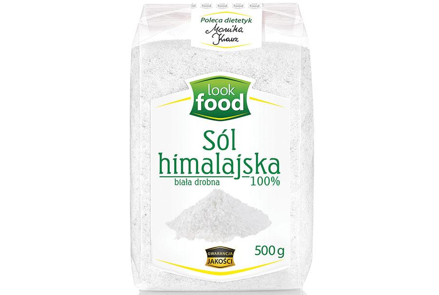 Sól himalajska biała drobnoziarnista