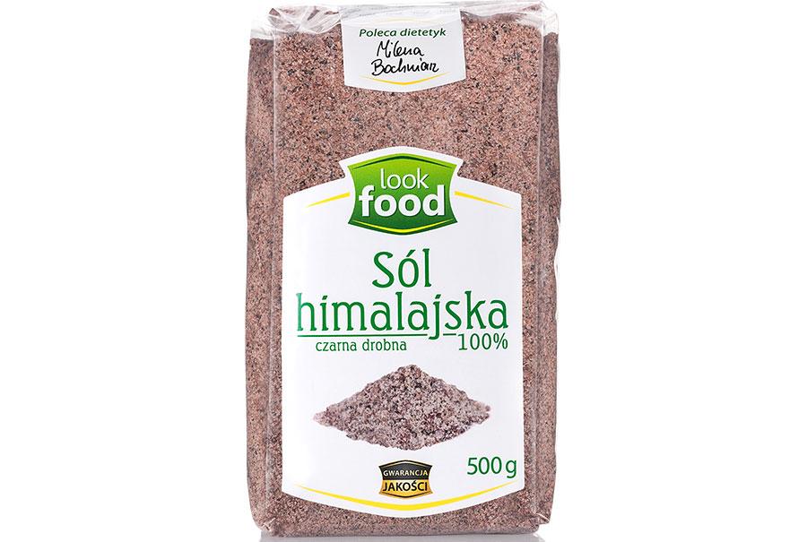 Sól himalajska czarna drobnoziarnista