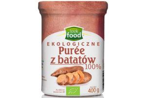 Ekologiczne puree z batatów Look Food