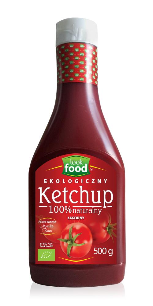 Ketchup łagodny Bio