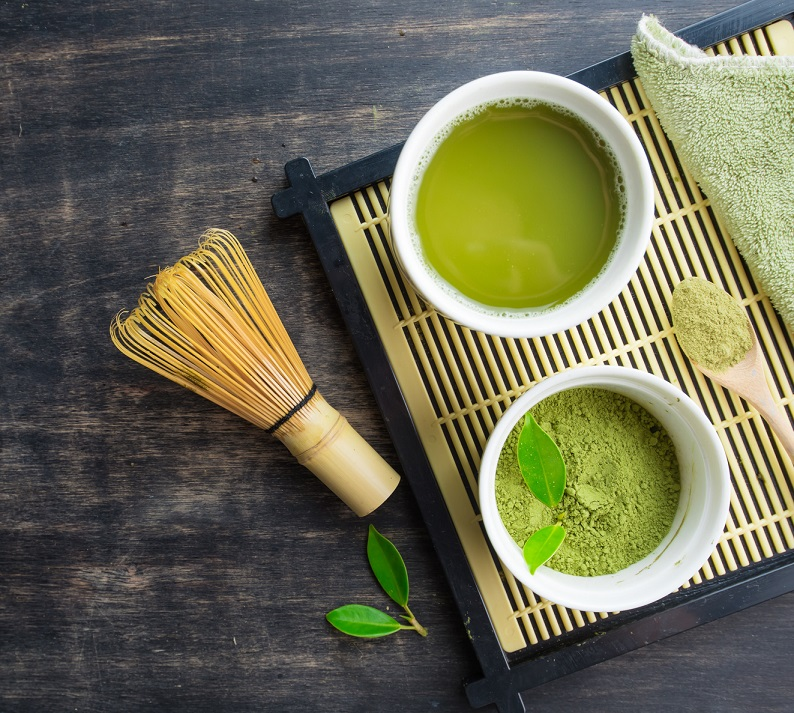Matcha zielona herbata sproszkowana